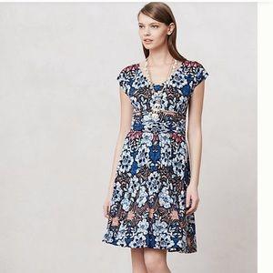Anthropologie Batik Gardenia Dress -size Medium
